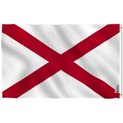 Anley Fly Breeze 3x5 Foot Alabama State Polyester Flag Alaba