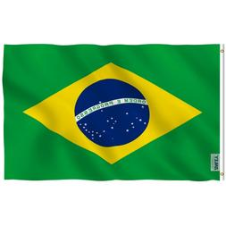 Anley Fly Breeze 3x5 Foot Brazil Flag Brazilian National Fla