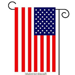 Classic American Flag Garden Flag | Double-sided, Polyester,