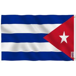 Anley Fly Breeze 3x5 Foot Cuba Flag Cuban National Flags Pol
