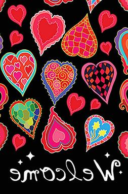 Morigins Dancing Hearts Welcome Valentine's Day Double Sided