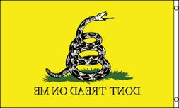 DON'T TREAD ON ME 3x5ft Flag Polyester united states gadsden