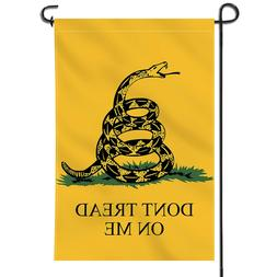 Anley Don't Tread On Me Garden Flag Decorative Flags Double