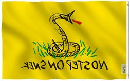 Anley Fly Breeze 3x5 Foot No Step On Snek Flag Tea Party Fla