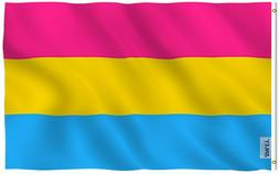 ANLEY Fly Breeze 3x5 Foot Pansexual Pride Flag Omnisexual LG