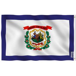Anley Fly Breeze 3x5 Foot West Virginia State Flag - West Vi