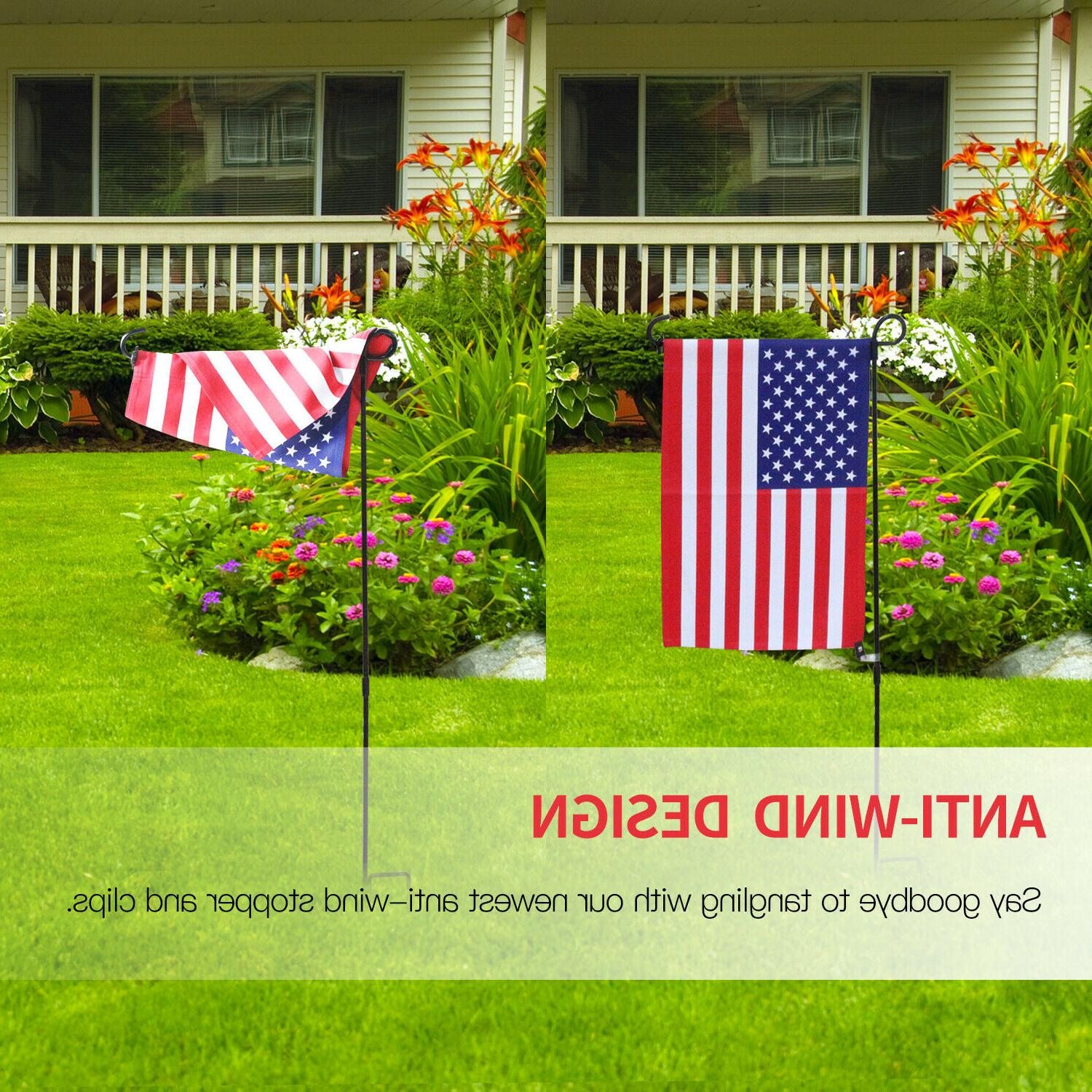 Anley 10 Garden Flag and Anti-Wind