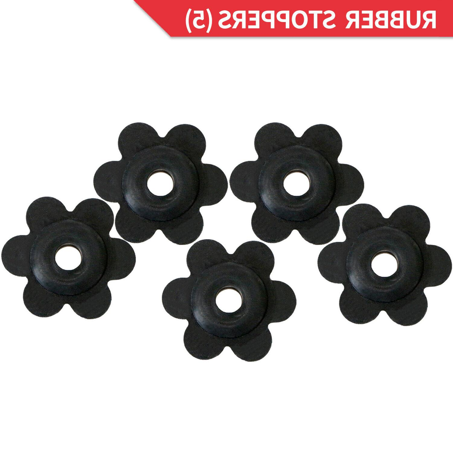 Anley 10 Pack Garden Stoppers and