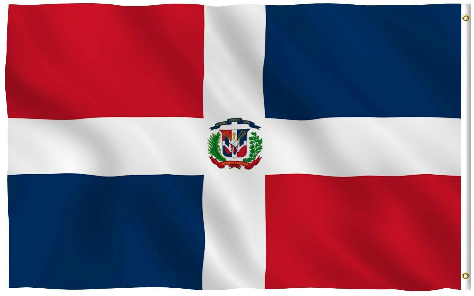 dominican flag dominican republic banner polyester 3x5