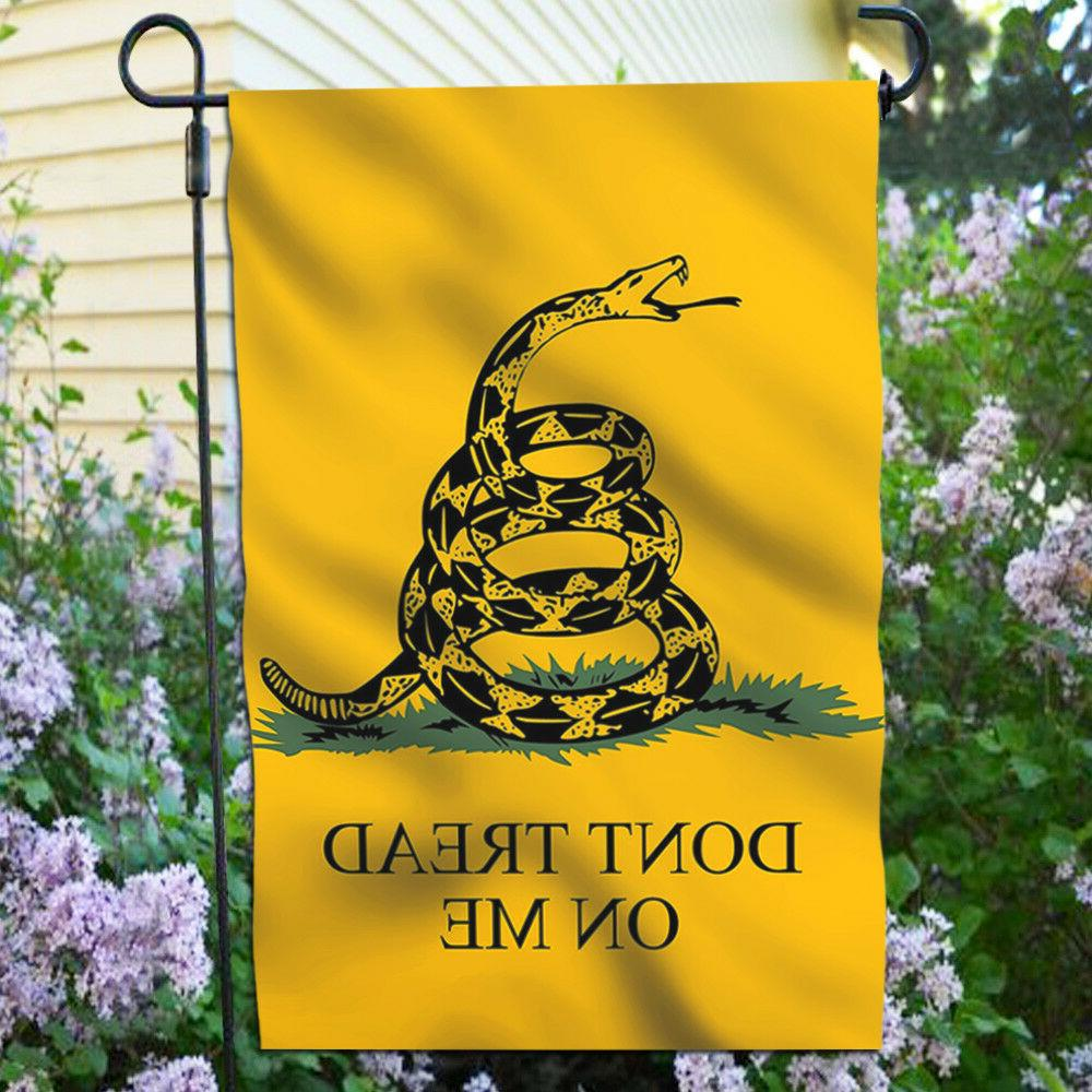 Anley Don't Me Garden Decorative Flags Double Sided x12.5