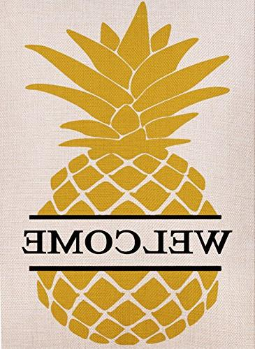 home decorative double sided pineapple