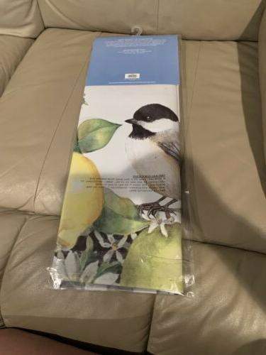 New! Chickadee House Flag Double Sided