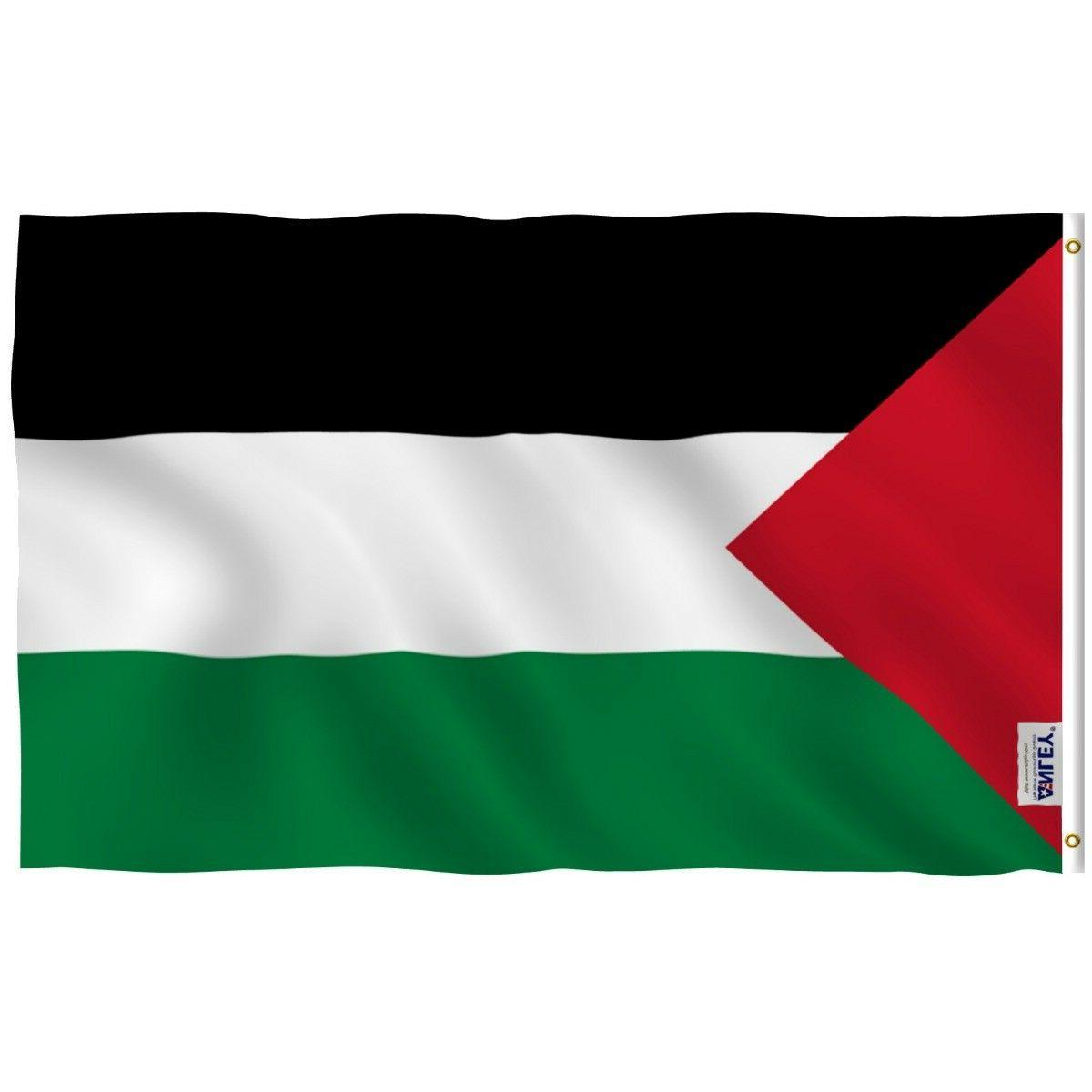 palestinian flag palestine banner polyester 3x5 foot