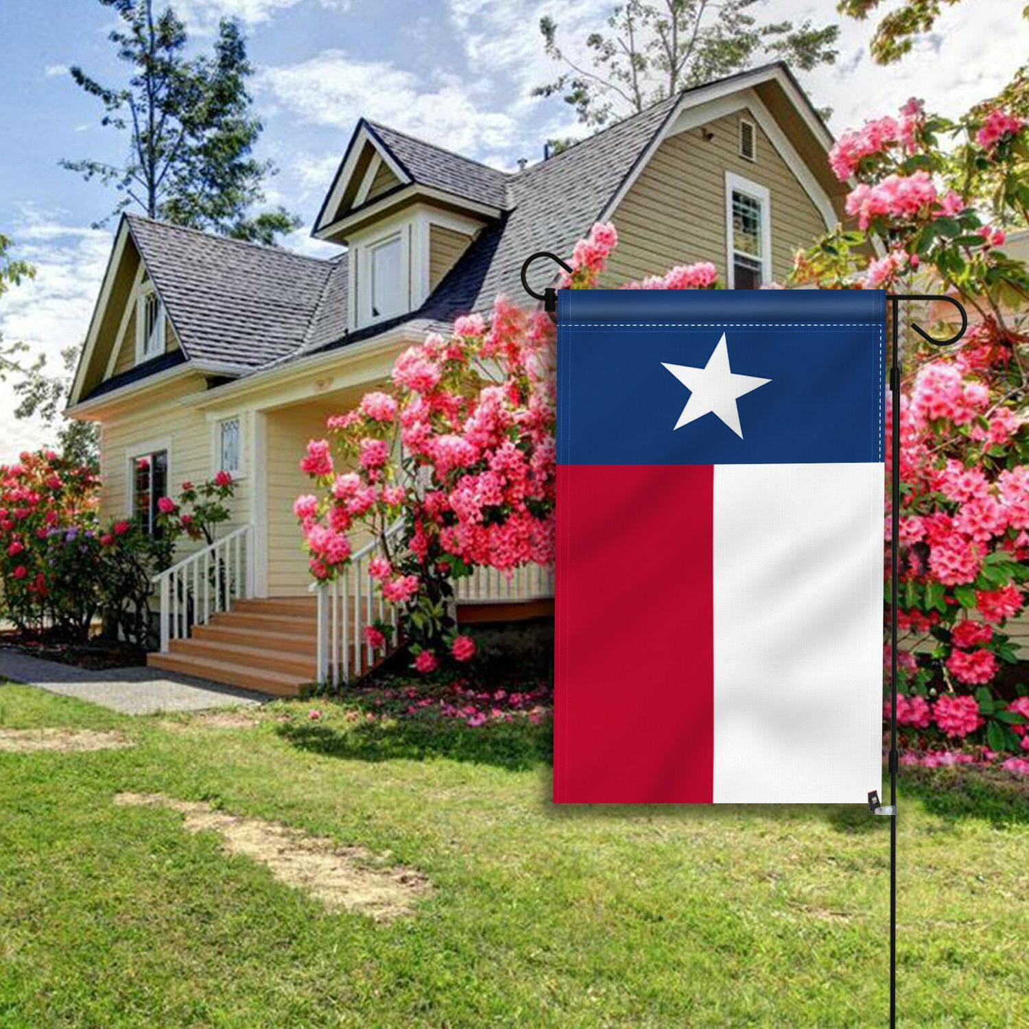 Anley Texas State Garden Flag Decorative Double Sided x12.5