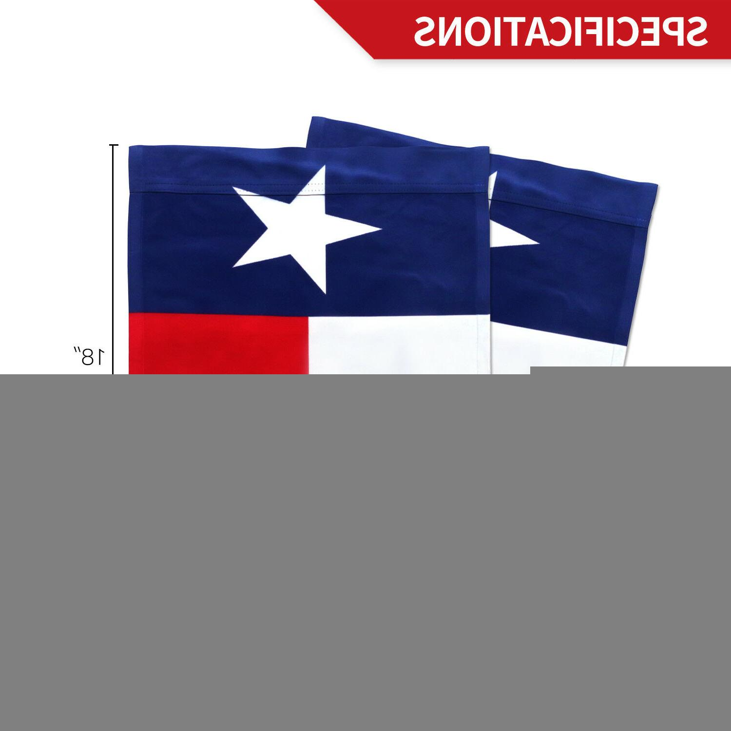 Anley State Garden Flag Double Sided 18