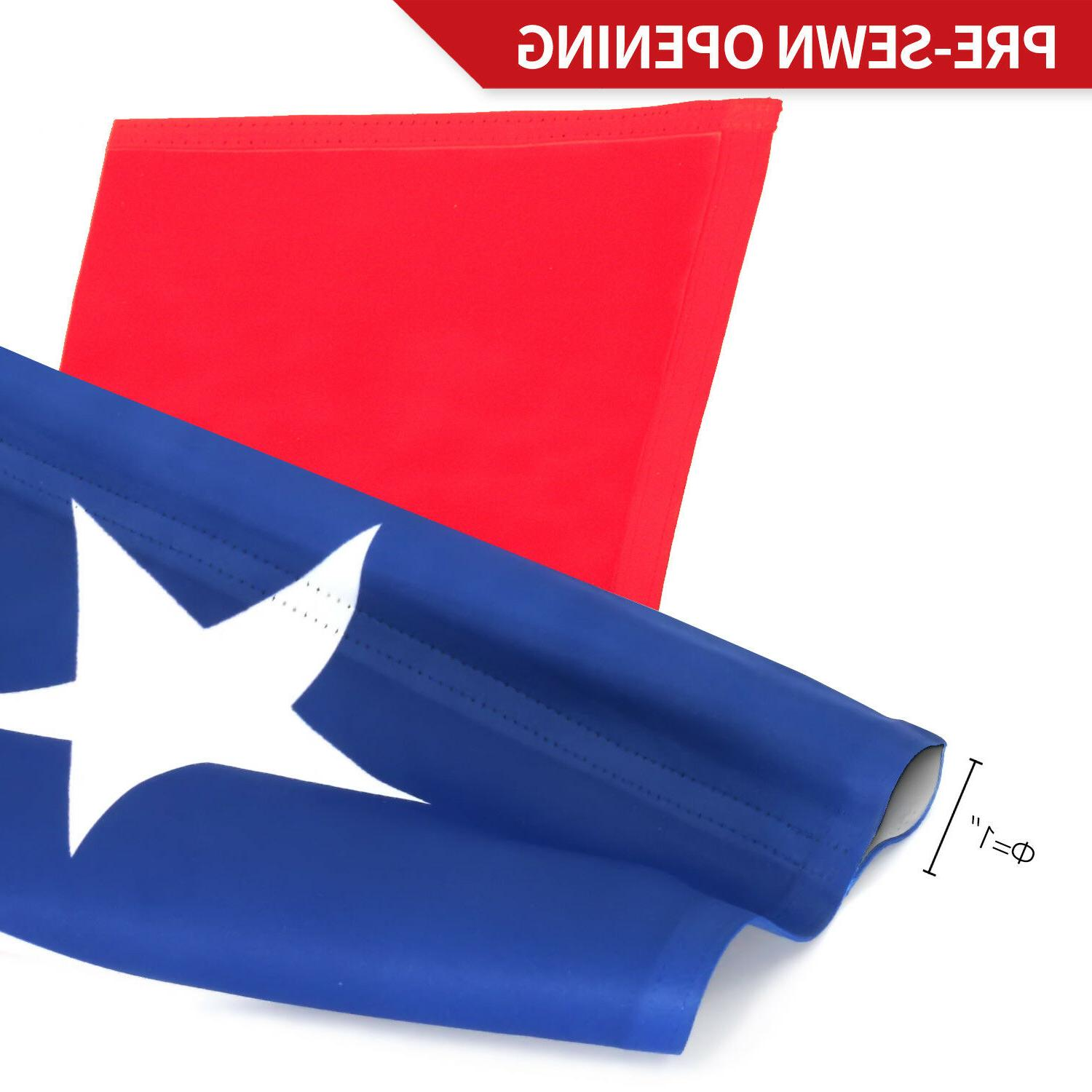 Anley State Flag Decorative Sided x12.5 Inch