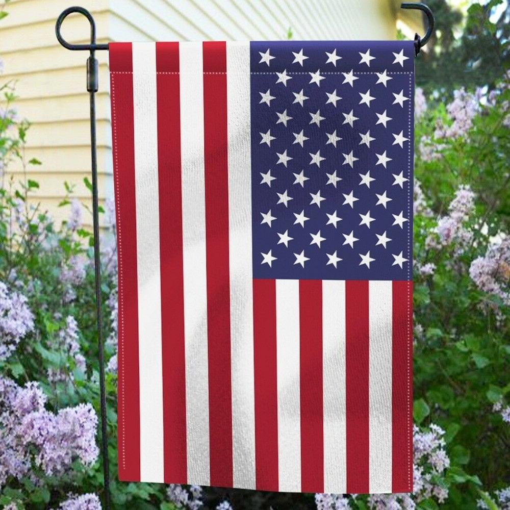 Garden Flag Double Sided & x 18 In